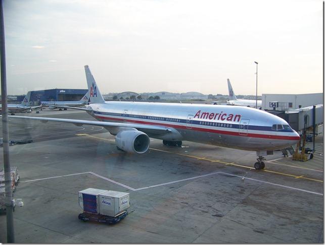 American Airlines Boeing New York JFK-n