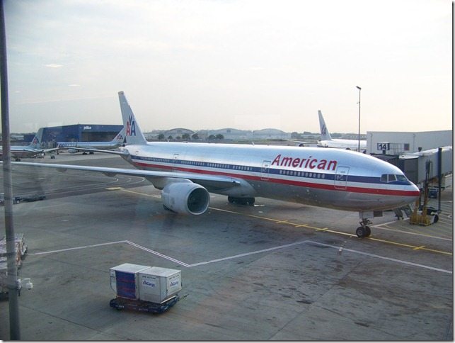 American Airlines Boeing New York JFK-n